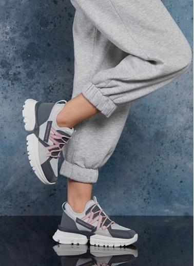 Dark Seer Ds3.5189 Sneaker 2021 Kadın Füme